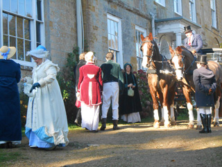 Regency Party drive near Bridport